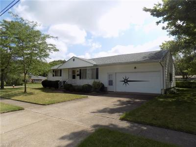 Lorain Single Family Home Active Under Contract: 3005 Reeves Avenue