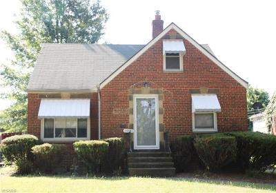 Cleveland Single Family Home For Sale: 14734 Judson Drive