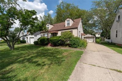 Mayfield Heights Single Family Home For Sale: 1253 Genesee Avenue