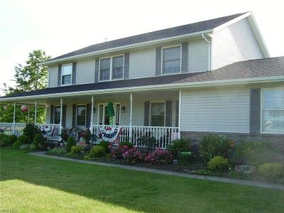 Valley City Single Family Home For Sale: 16820 Erhart Northern Road