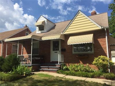Cleveland Single Family Home For Sale: 8608 Morton Avenue
