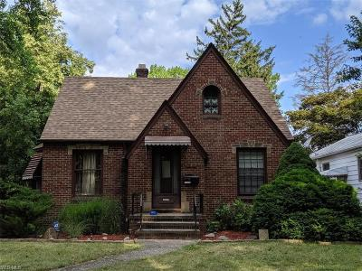 Cleveland OH Single Family Home Active Under Contract: $125,000