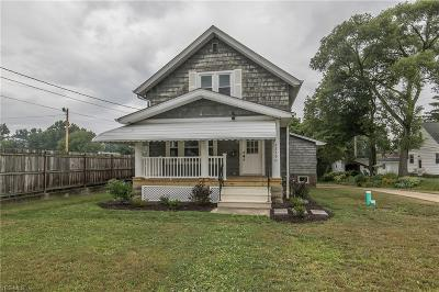 Fairview Park Single Family Home For Sale: 22790 Lorain Road