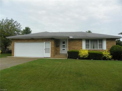Parma Single Family Home For Sale: 3206 Coventry Drive