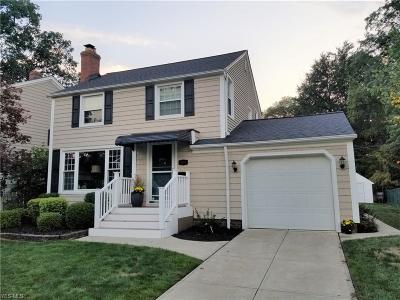 Bay Village Single Family Home Active Under Contract: 404 Oakmoor Road