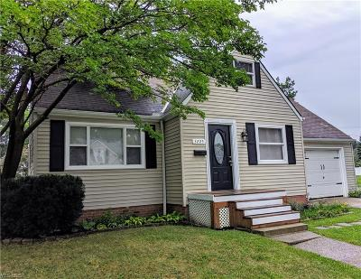 Cleveland OH Single Family Home Active Under Contract: $120,000
