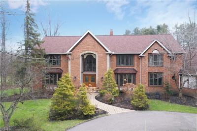 Solon Single Family Home For Sale: 7249 Rollingbrook Trail