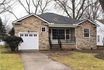 Bay Village Single Family Home For Sale: 29113 Foote Road