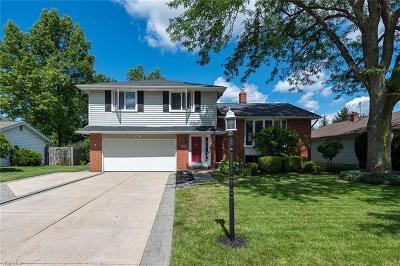 Lyndhurst Single Family Home Active Under Contract: 5395 Meadow Wood Boulevard