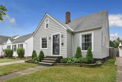 Cleveland Single Family Home For Sale: 1417 Plymouth Road