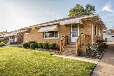 Parma Single Family Home For Sale: 1030 Maple Drive