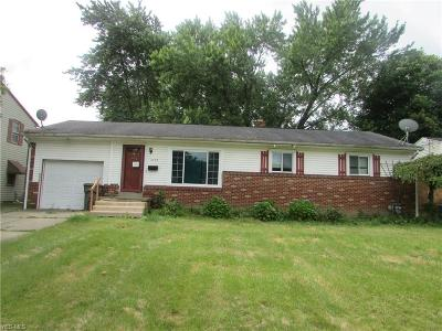 Youngstown Single Family Home For Sale: 2433 Sierra Drive