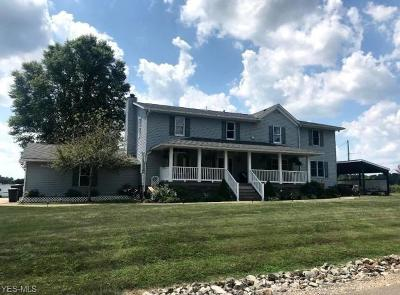Zanesville Single Family Home For Sale: 4650 Lany Lane