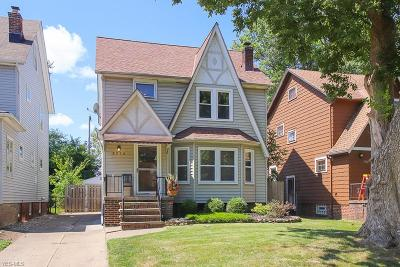 Cleveland OH Single Family Home Active Under Contract: $170,000