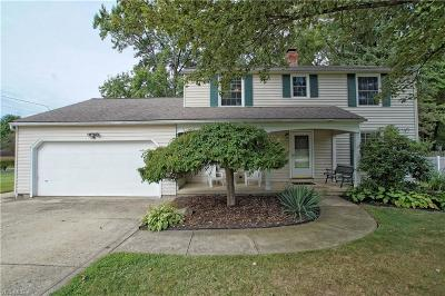 Lake County Single Family Home Active Under Contract: 7300 Chillicothe Road