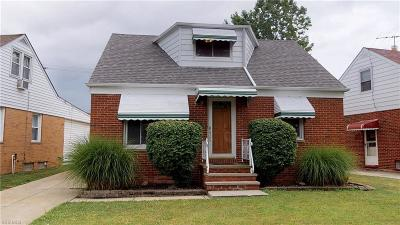 Willowick Single Family Home For Sale: 625 Pendley Road