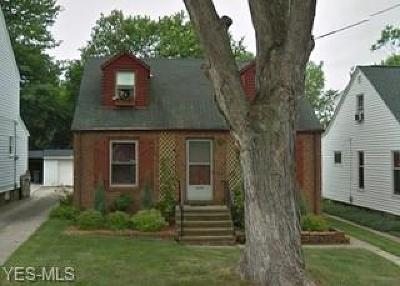 Cleveland OH Single Family Home Active Under Contract: $75,000