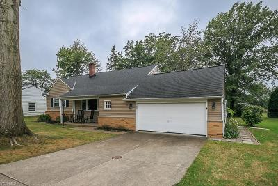 Highland Heights Single Family Home For Sale: 890 Millridge Road