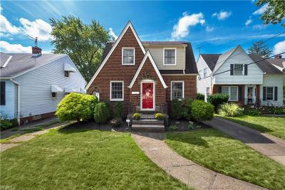 Cleveland OH Single Family Home Active Under Contract: $144,900