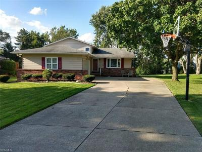 Twinsburg Single Family Home Active Under Contract: 8877 White Oak Drive