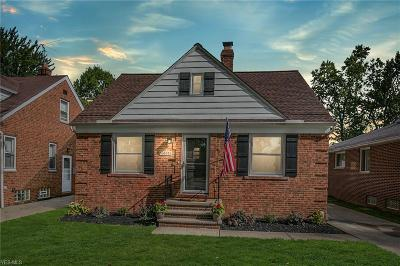 Fairview Park Single Family Home Active Under Contract: 20566 Belvidere