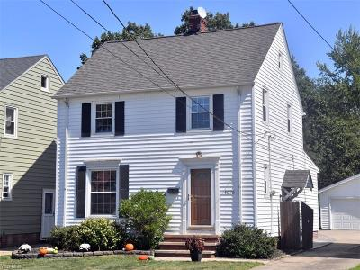 Cleveland OH Single Family Home For Sale: $150,000