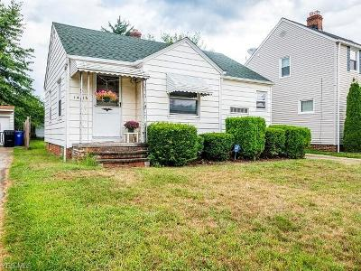 Cleveland OH Single Family Home For Sale: $86,000