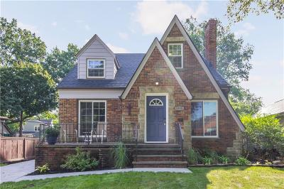 Cleveland OH Single Family Home Active Under Contract: $229,000