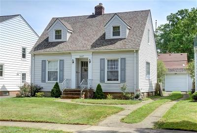 Cleveland OH Single Family Home For Sale: $145,000
