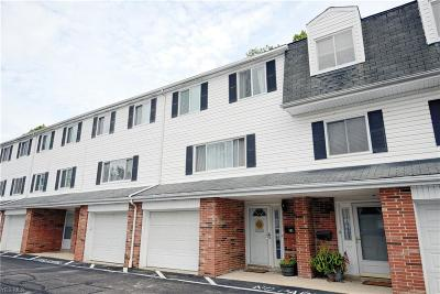 Twinsburg Condo/Townhouse For Sale: 2005 Presidential Parkway #78