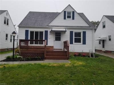 Willowick Single Family Home Active Under Contract: 376 E 323rd Street