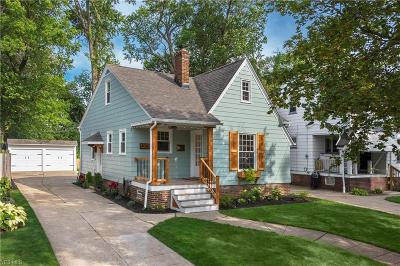 Cleveland OH Single Family Home Active Under Contract: $189,500
