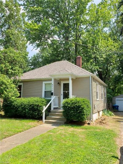 Painesville OH Single Family Home For Sale: $87,900
