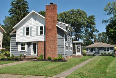 Painesville OH Single Family Home For Sale: $179,000