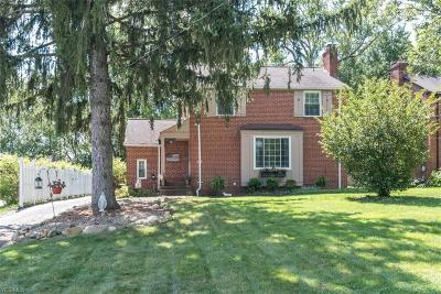 Brecksville Single Family Home Active Under Contract: 7036 Arlington Street