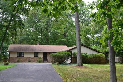 Beachwood, Chagrin Falls, Lyndhurst, Seven Hills, Solon, Aurora, Hudson, Kent, Reminderville, Sagamore Hills, Twinsburg Single Family Home For Sale: 7788 McCreary Road