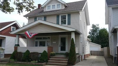 Cleveland OH Single Family Home Active Under Contract: $179,900