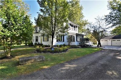 Single Family Home For Sale: 15221 Chillicothe Road