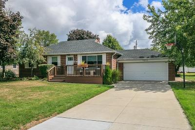 Single Family Home For Sale: 1665 Roselawn Road