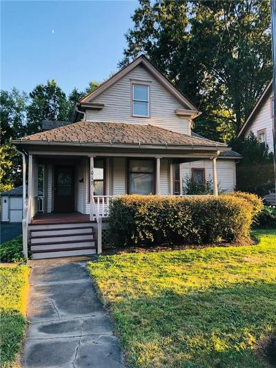 Ravenna Single Family Home For Sale: 1017 W Main Street