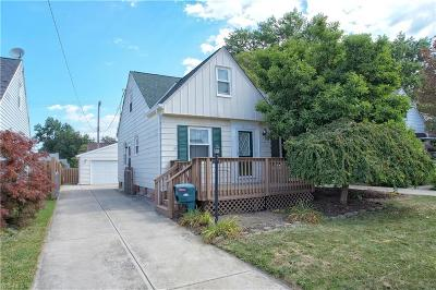 Willowick Single Family Home For Sale: 383 E 330th Street