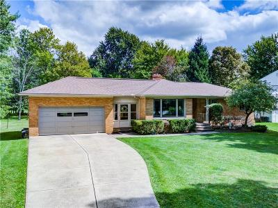 Single Family Home For Sale: 8375 Broadview Road