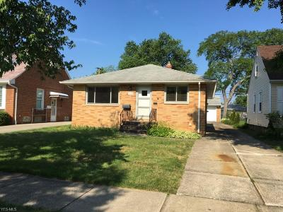 Lyndhurst Single Family Home For Sale: 1536 Winchester Road