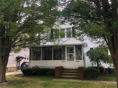 Cleveland OH Multi Family Home Active Under Contract: $121,900