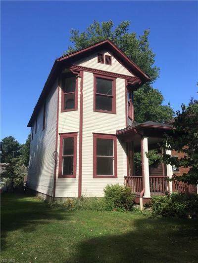 Zanesville Single Family Home For Sale: 529 Brighton Boulevard