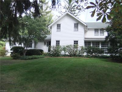 Single Family Home For Sale: 7632 Wilson Mills Road