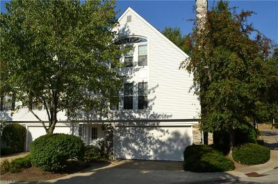Beachwood, Chagrin Falls, Lyndhurst, Seven Hills, Solon, Aurora, Hudson, Kent, Reminderville, Sagamore Hills, Twinsburg Condo/Townhouse For Sale: 10 Commons Court #7