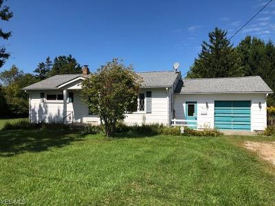 Lake County Single Family Home Active Under Contract: 5833 Ford Road