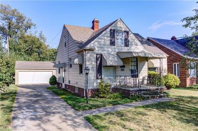 Fairview Park Single Family Home Active Under Contract: 4535 W 226th Street