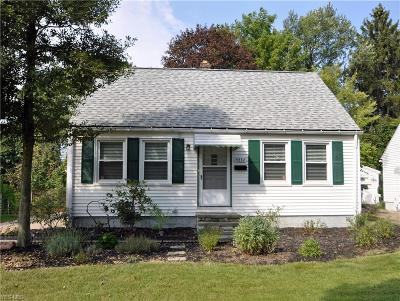 Cleveland OH Single Family Home For Sale: $124,900